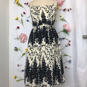 EUC Ann Taylor floral spaghetti strap sun dress